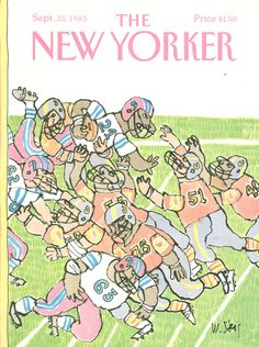 The New Yorker - Monday, September 23, 1985 - Issue # 3162 - Vol. 61 - N° 31 - Cover by : William Steig