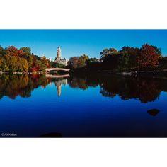 Central Park NY from 1981 on Ektachrome