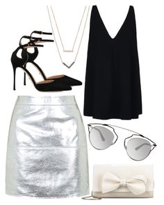 """""""Top #40"""" by deedee-pekarik ❤ liked on Polyvore featuring Topshop, Michael Kors, STELLA McCARTNEY, Sergio Rossi, RED Valentino and Christian Dior"""