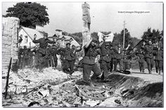 WW2: Downfall: The Gradual Obliteration Of the German Army (1944-45)  - German soldiers surrender in Vilnius. July 11, 1944.