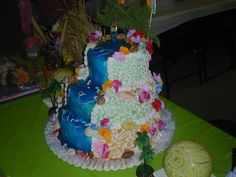 Hawaiian Waterfall Cake Photo:  This Photo was uploaded by chefcj. Find other Hawaiian Waterfall Cake pictures and photos or upload your own with Photobu...