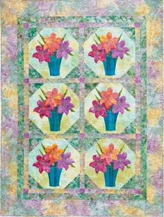 Flower Show Quilts by Martingale | That Patchwork Place, via Flickr