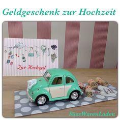 Geldgeschenk zur Hochzeit über https://www.facebook.com/SuesswarenladenAschersleben