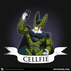 Cellfie T-Shirt - Dragon Ball T-Shirt is $11 today at Ript!