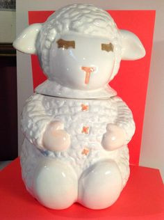 Lamb Chop Cookie Jar made in Taiwan by Dayton Hudson Stores