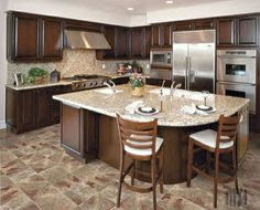 kitchen countertop materials | Home Kitchen Remodeling in Countertop Material | Dream fun House