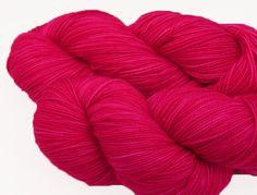 Pretty in Pink -- Aurora Fingering. $23.00, via Etsy.