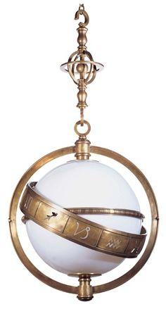 Zodiac light. Not an antique.