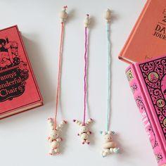 bead bunny bookmark