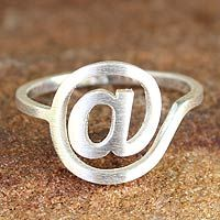 Love NOVICA, love this. Great gift for computer geeks and generation tech. Cyber Times ring is a steal @ $29.95