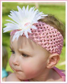 "Baby Headbands :: Christian Clothing | Christian Shirts | Christian Apparel by Faith Baby - Faith Baby Christian Apparel ""Pink Taffy"""