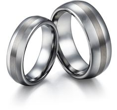 #tungstenrepublic.com     #ring                     #Couple's #Domed #Tungsten #Carbide #Wedding #Ring #with #Brushed #Centre #Stripe                       Couple's Domed Tungsten Carbide Wedding Ring Set with Brushed Centre Stripe                             http://www.seapai.com/product.aspx?PID=1093123