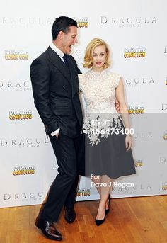 Fotografia de notícias : Luke Evans and Sarah Gadon attend the UK premiere...