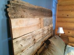 Finished a custom made barn wood headboard this weekend. We can turn barn wood into any piece of furniture you want! This chic type of furniture provides a jaw dropping center piece or accent to any room in your house. Send us a message and we can turn your vision into a reality.  heartofthemarket@gmail.com