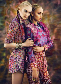 CIRO featured in a tropical @TIRADE Magazine shoot. Shop our spring collection online at www.cirojewellery.com #cz #rubyrocks #cubiczirconia #fashionjewellery #jewelleryrocks #glamour #celebrity #fashionjewellery #diamondsareagirlsbestfriend #springfashion