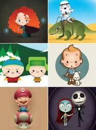 """Résultat de recherche d'images pour """"dessin pixar kawai"""""""