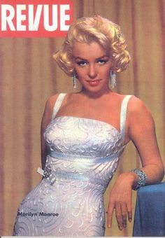 "Vintage Marilyn ""Revue"" magazine cover"