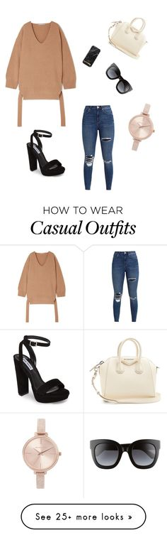"""""""Chic Casual ✨"""" by missrebeccaa on Polyvore featuring STELLA McCARTNEY, Givenchy, Gucci, Steve Madden and Michael Kors"""