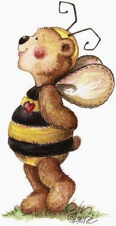 Laurie Furnell - Bumbly bears (497x1024 px) | Teddy bear ...