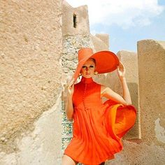 1967 Vogue tangerine tango