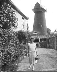 Old Windmill, Brixton Hill, London, 1935 Brixton Hill, Old Windmills, Crystal Palace, Ideal Home, Sheds, Gardens, London, Building, Ideal House