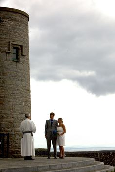 The peaceful, awe inspiring O'Briens Tower at the Cliffs of Moher, west coast of Ireland. Plan Your Wedding, Dream Wedding, Wedding Stuff, Wedding Ideas, West Coast Of Ireland, Intimate Wedding Ceremony, Cliffs Of Moher, Destination Wedding Locations, Water Lilies