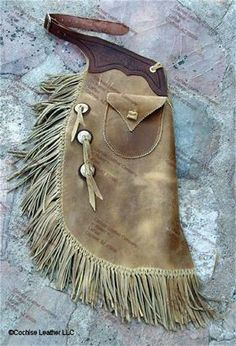 Western Custom Leather Chaps - Batwing Chaps and Chinks