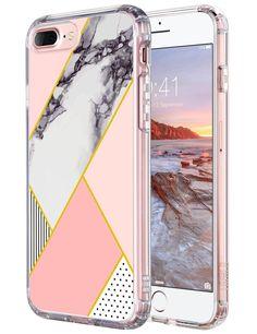 iPhone 7 Plus Case ULAK [Clear Slim] Pattern Hybrid Shock Absorbing & Scratch... | eBay