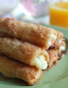 Cinnamon Cream Cheese Roll-Ups ~ These are so easy..  Delicious finger food for a brunch or shower.""