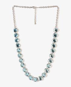Rhinestone Bead Necklace $12.80 (Forever 21)