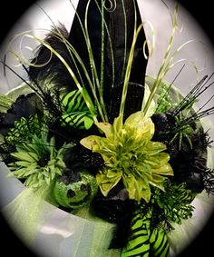 Elphaba's Wicked Witch Hat Halloween Witches by Marcellefinery