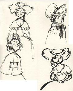 Sketchbook by Kristin Kemper, via Behance