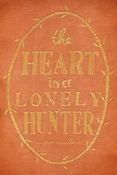 Chloe Giordano's Embroidered Book Covers — The Heart Is A Lonely Hunter