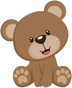 57 Ideas For Baby Shower Decoracion Animales Teddy Bears Teddy Bear Images, Mini Teddy Bears, Baby Teddy Bear, Teddy Bear Pictures, Teddy Bear Baby Shower, Baby Boy Shower, Teddy Bear Patterns Free, Tedy Bear, Bear Clipart
