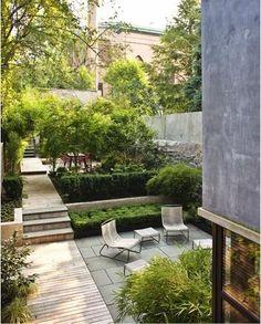 Courtyard Garden, Brooklyn | Foras Studio | angelamckenziedesign.blogspot.com.au