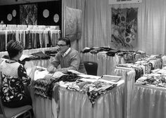 Exhibitor at Seattle International Textile Expo #SeattleCenter September 2012, via Flickr.