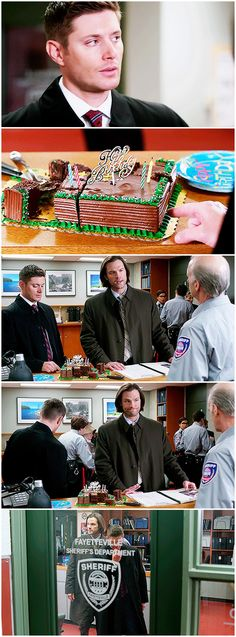 [gifset] Supernatural 10x15 The Things They Carried #SPN #Dean #Sam || awwww Dean like a little kid