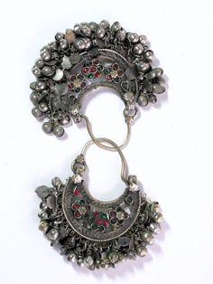 Kuchi tribal earrings