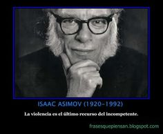 Isaac Asimov (January 1920 – April was an American author and professor of biochemistry at Boston University, best known for his works of science fiction and for his popular science books. Asimov was one of the most prolific writers of all tim Hard Science Fiction, Science Fiction Authors, Science Books, Fiction Books, Isaac Asimov, George Orwell, Michel De Montaigne, American Shorts, Story Writer