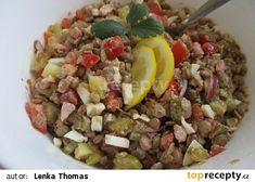Czech Recipes, Cobb Salad, Grains, Rice, Food, Essen, Meals, Seeds, Yemek