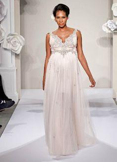 Preggy wedding dress