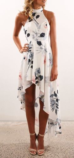 summer outfits Lose Me Dress White Print | Women's | Jean Jail #fashionfallmens