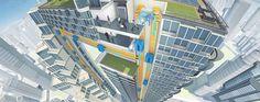 الكشف عن أعلى مبنى في العالم على شكل حرف U!