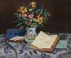 guillaumin, armand nature mor ||| still life ||| sotheby's l19004lotb2l3zen Art Day, Flower Art, Still Life, Oil On Canvas, Modern Art, Auction, Prints, Books, Paintings
