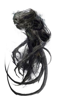 Tagged with art, drawings, fantasy, roleplay, dungeons and dragons; Dungeons & Dragons Monsters: The Undead I (inspirational) Dark Creatures, Fantasy Creatures, Mythical Creatures, Shadow Creatures, Fantasy Monster, Monster Art, Shadow Monster, Hp Lovecraft, Lovecraft Cthulhu