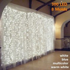 Party Girlande, Led Curtain Lights, Icicle Lights, Window Lights, Backdrop Lights, Twinkle Lights, Backdrop Photobooth, Wall Lights, Wall Fairy Lights