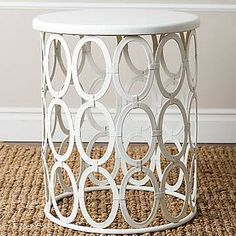 metal side table circles - Google Search
