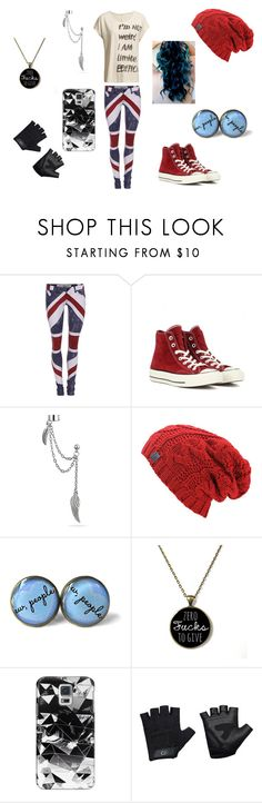 """""""Extra"""" by pokergirl77 ❤ liked on Polyvore featuring Religion Clothing, Converse, Bling Jewelry, Casetify and Casall"""