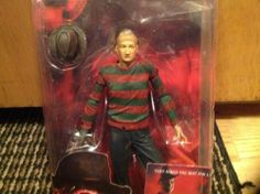 "Nightmare on Elm Street Series 4 7"" Springwood Slasher Freddy Krueger NECA | eBay"