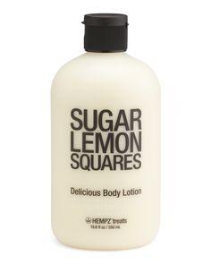 18.6oz Sugar Lemon Squares Lotion